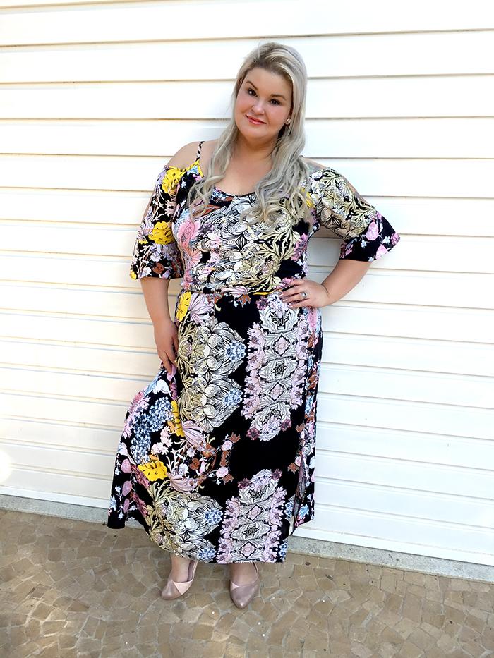 Vestido longo plus size - Chiceelegante - grandes mulheres - moda plus size 6