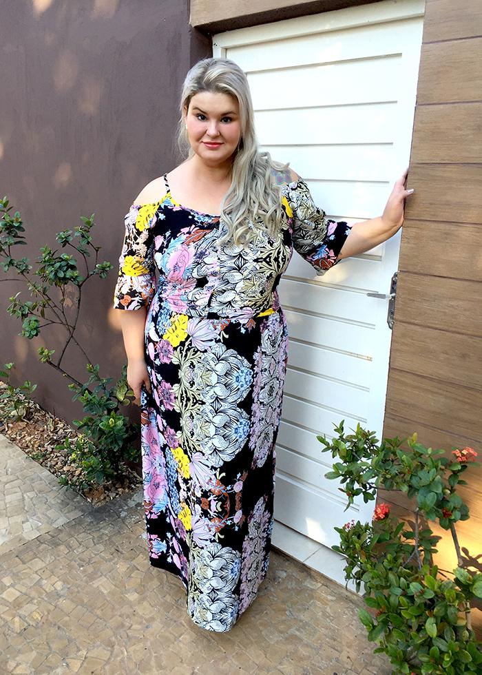 Vestido longo plus size - Chiceelegante - grandes mulheres - moda plus size 7