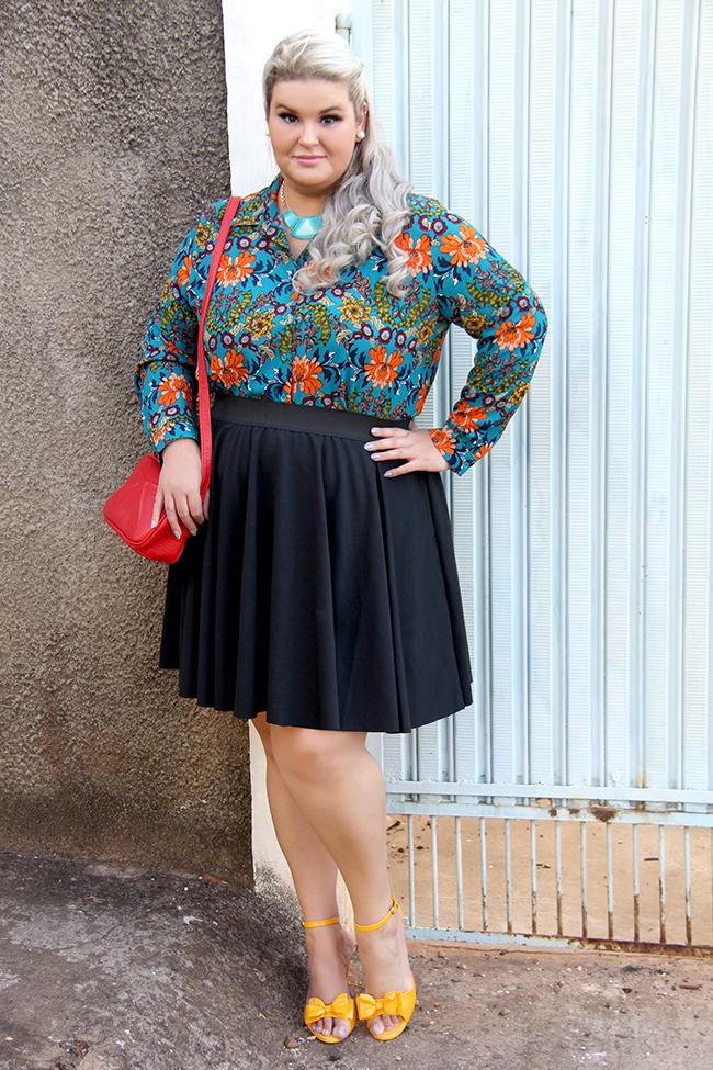 Look lady like plus size com Chica Bolacha e Julia Plus 8 - look do dia plus size - moda plus size - moda para gordinhas - grandes mulheres