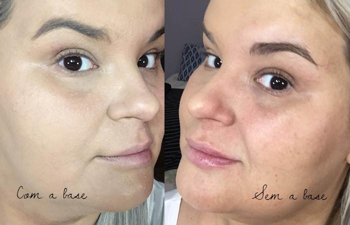 resenha base matte de alta cobertura da tracta - maquiagem - base - grandes mulheres 7