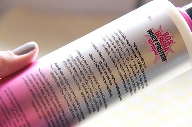 SOS Bomba Whey Protein Nutrição 6 - produtos para cabelo - grandes mulheres