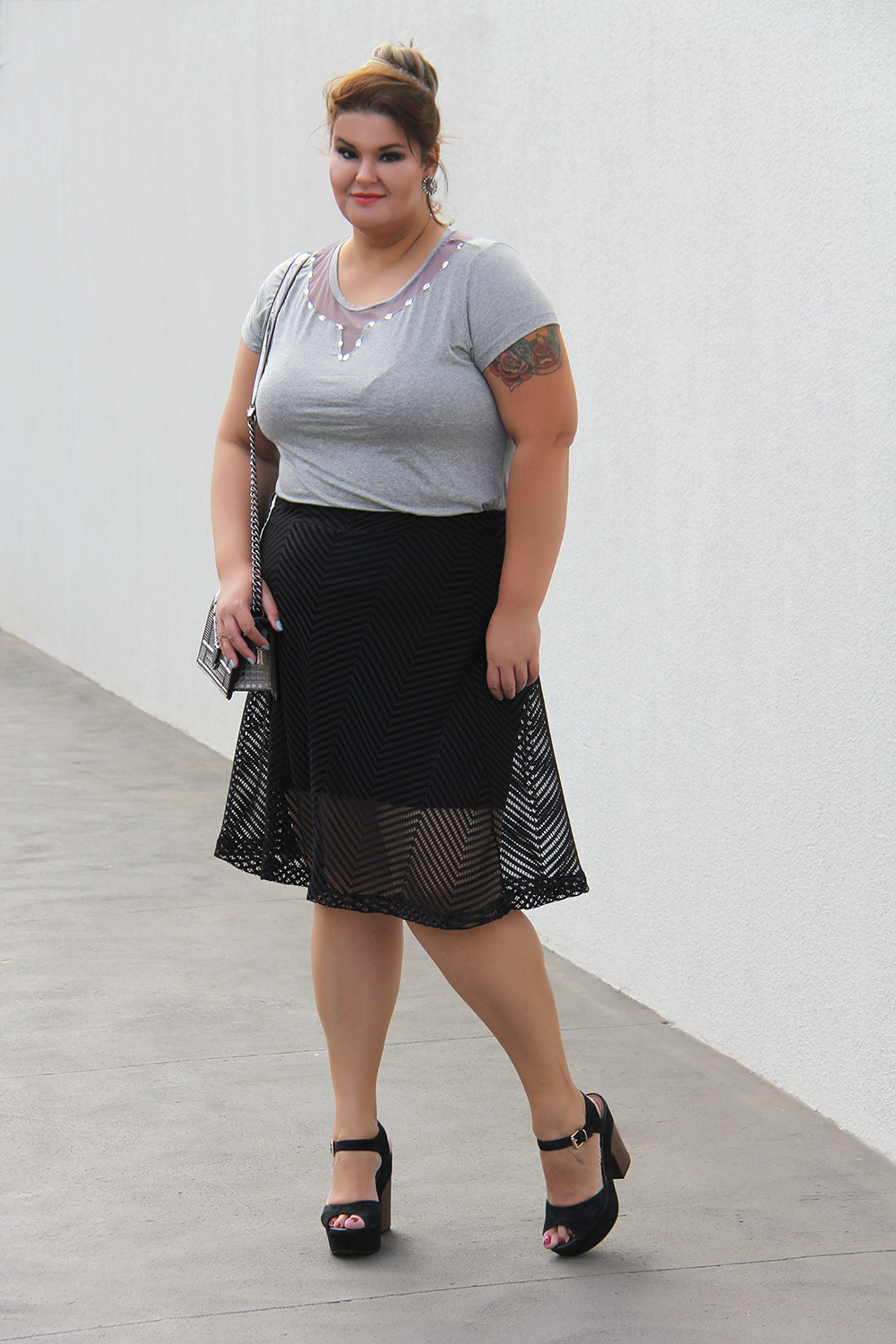Look arrumadinho plus size Miss Masy Plus