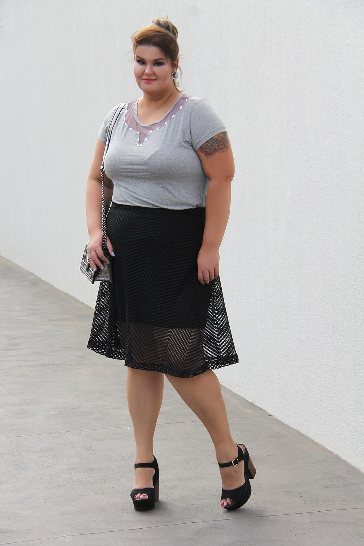 Look arrumadinho plus size Miss Masy Plus
