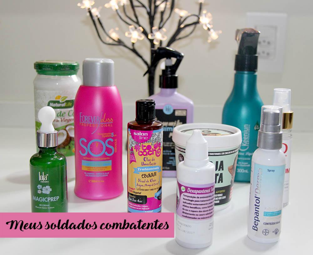 Lola, Salva Fios, cabelos platinados, hidratação pós-descoloração, óleo de coco para cabelos, Salon Line, Bepantol para Cabelos, BB Cream Lola