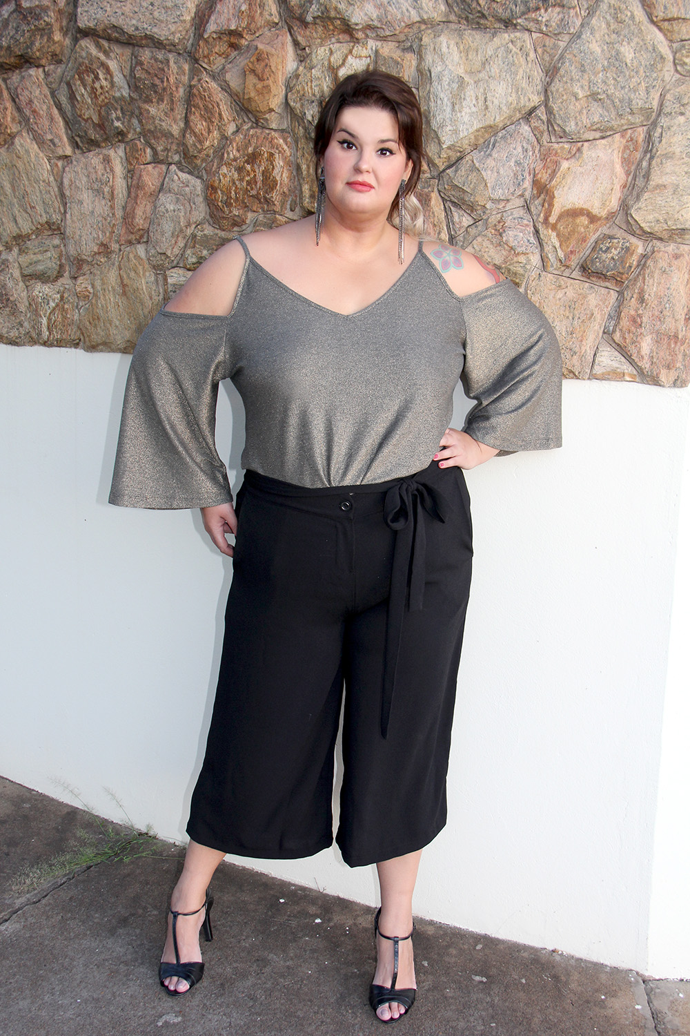 2ecb9e3e43 pantacourt-plus-size-moda-plus-size-look-do- Blusa  Predilect s Plus
