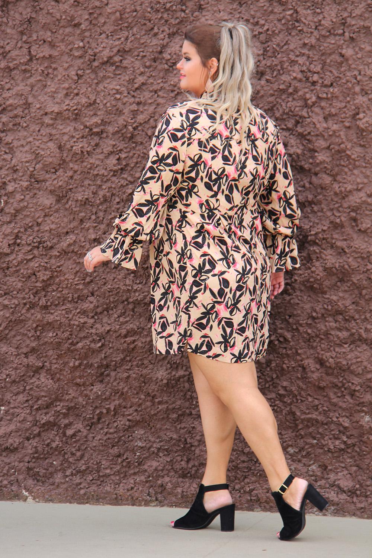Vestido plus size, Moda Plus Size, Julia Plus, Look do dia plus size