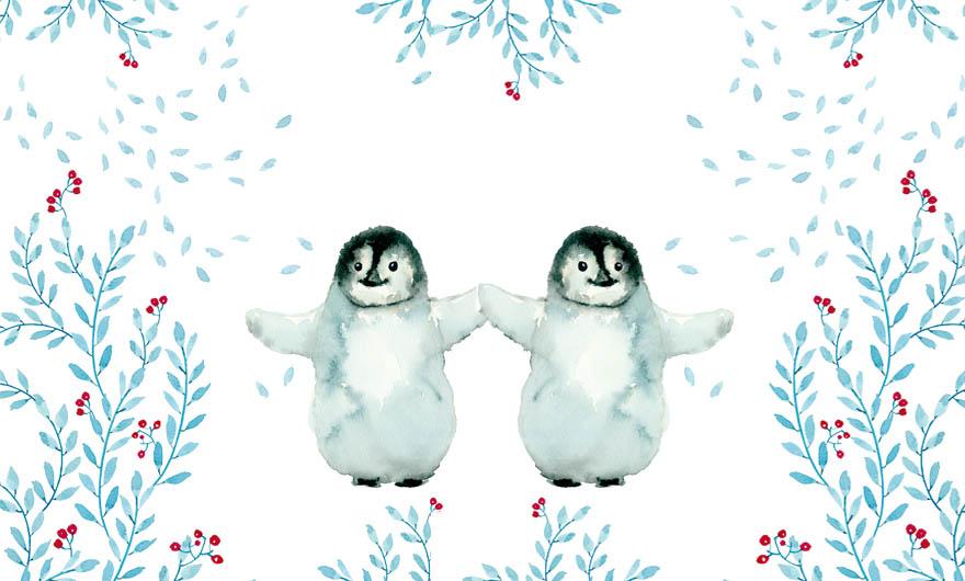 razões para amar o inverno, pinguim