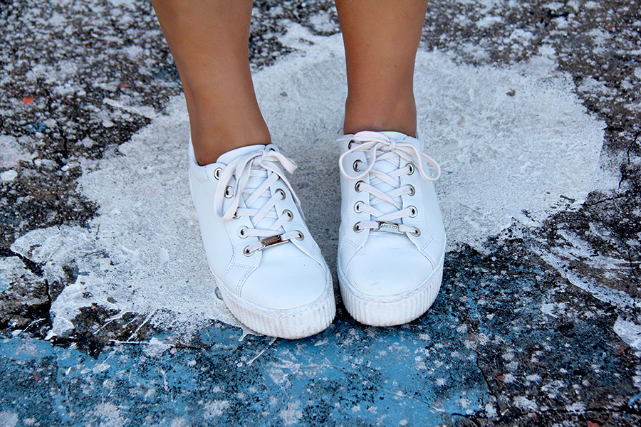 tênis branco Arezzo