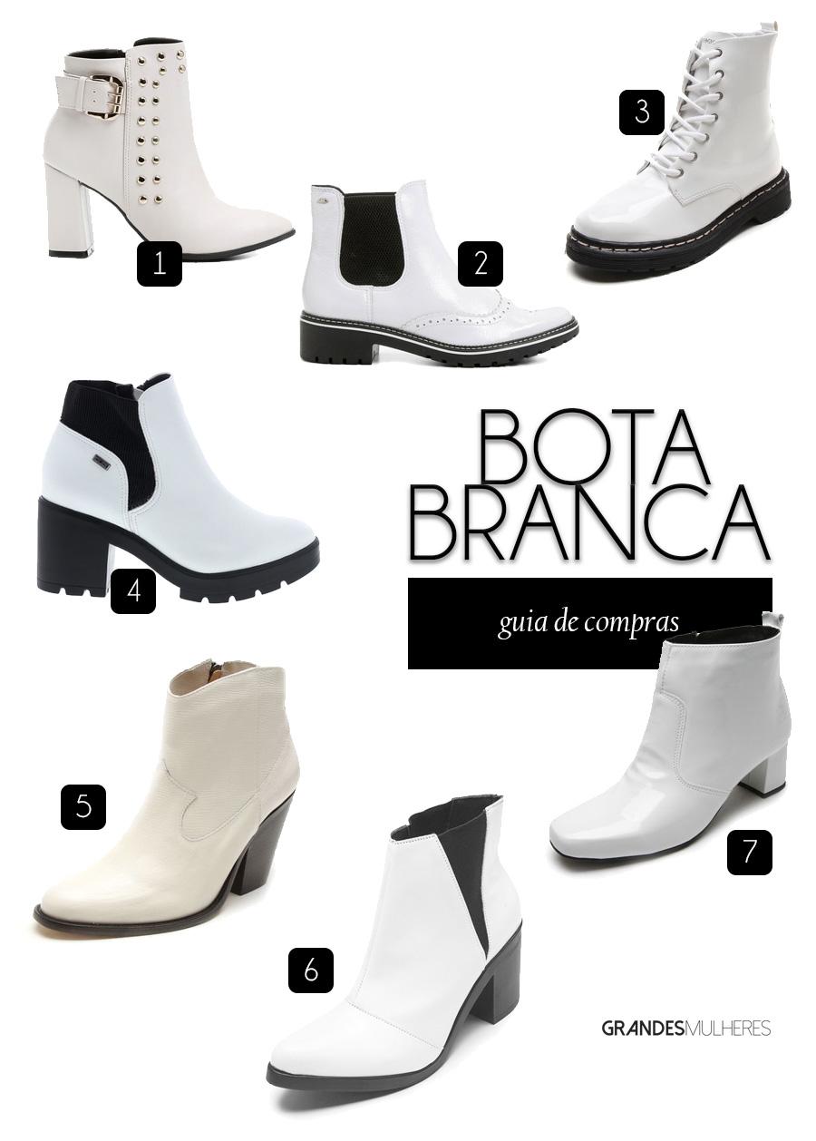 Onde comprar bota branca