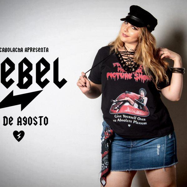 ChicaBolacha lança coleção REBEL