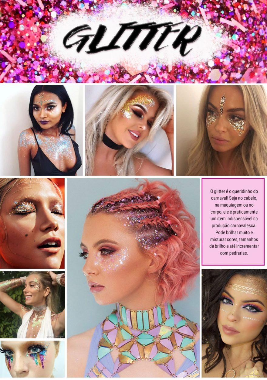 Glitter: ideias de aplicação para arrasar no Carnaval 2018!
