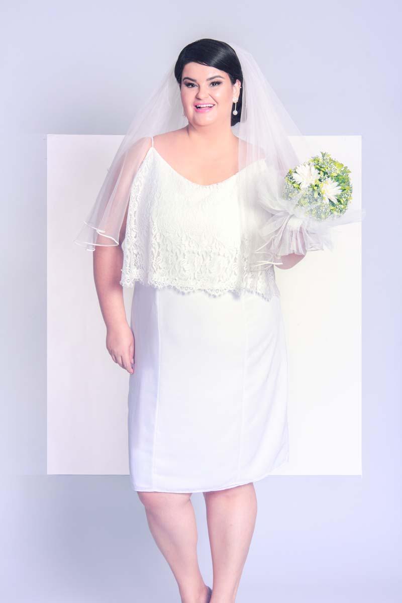 Vestidos de noiva plus size: blogueira Paula Bastos e estilista Arthur Caliman assinam coleção bridal em parceria