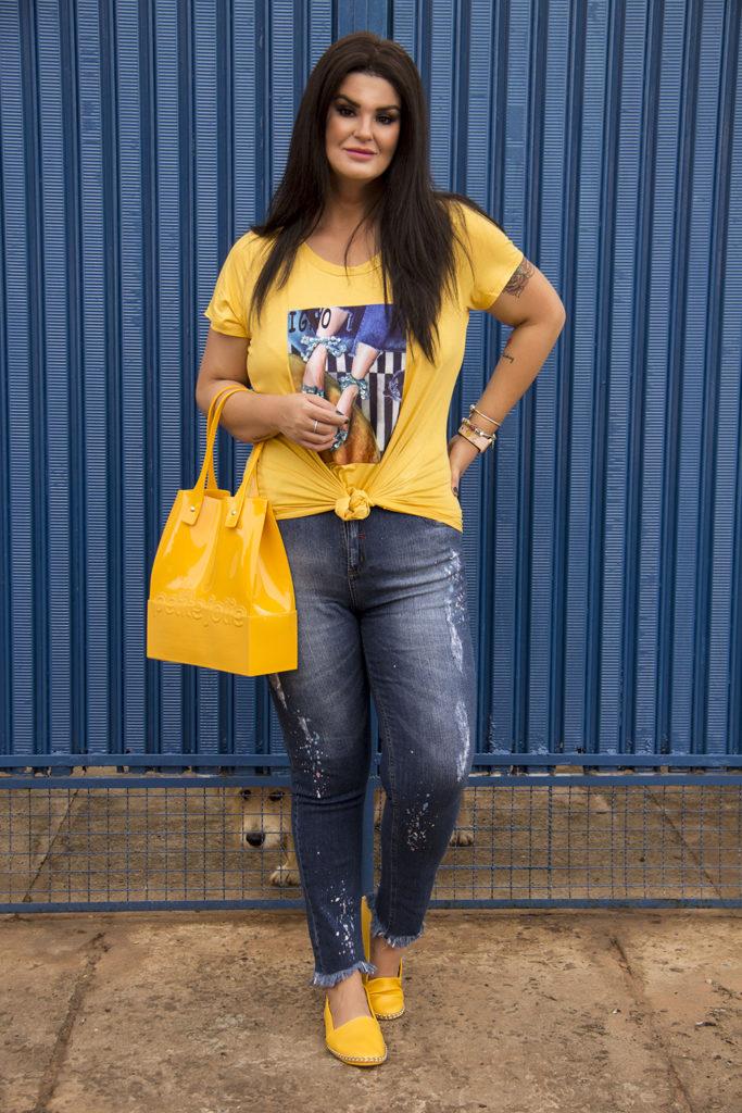 calça jeans plus size moderna Predilect's Plus