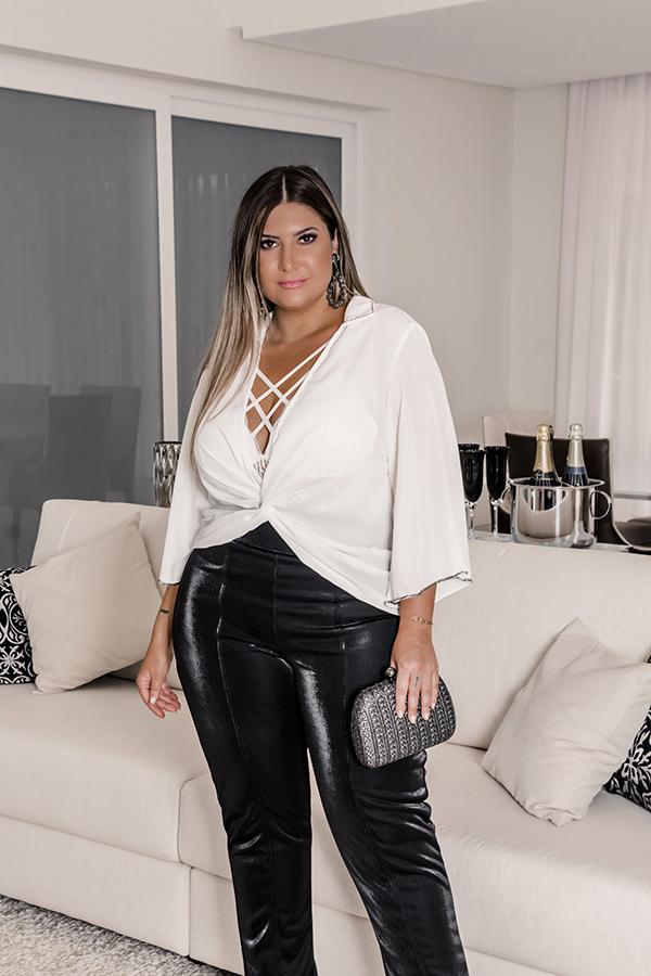 Bruna Rêgo usa look da Predilect's Plus